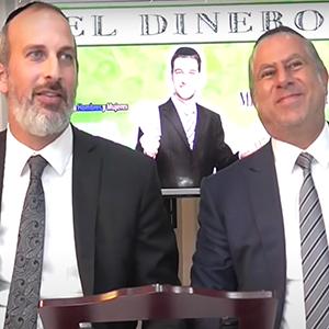 Rabino Abud Zonana y Sr. Yosef Chayo