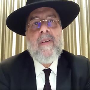 Rabino Abraham Mizrahi